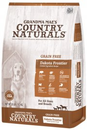 Grandma Mae's Country Naturals Grain Free Non-GMO LID Dakota Frontier Buffalo Meal Recipe