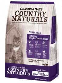 Grandma Mae's Country Naturals Grain Free Weight Control/Hairball Recipe for Cats