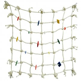 Fun-Max Cotton Climbing Net Small