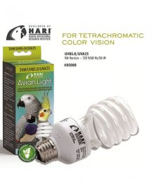 Hagen Hari Avian Light - Full Spectrum Daylight Bulb