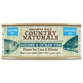 Grandma Mae's Country Naturals Sardine & Ocean Fish Dinner 5.5 Oz