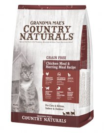 Grandma Mae's Country Naturals Grain Free Chicken & Herring Recipe for Cats & Kittens