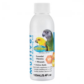 Vetafarm Multivet with Moulting Aid Liquid Vitamin