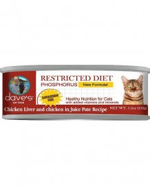 Dave's Restricted Diet Phosphorus Chicken Liver & Chicken in Juice Pate