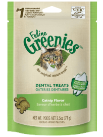 Feline Greenies™ Dental Treats Catnip  Flavor
