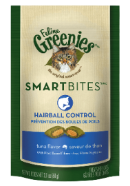 Feline Greenies™ Smartbites Hairball Control Treats Tuna Flavor