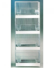 Domus 4 Stack Canary Breeder Cage Large