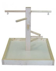 Fun-Max Small Wood Playstand