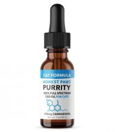Honest Paws Full Spectrum Hemp Purrity CBD Oil For Cats