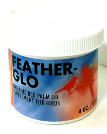 Morning Bird Feather-Glo Organic Dende Palm Oil Supplement