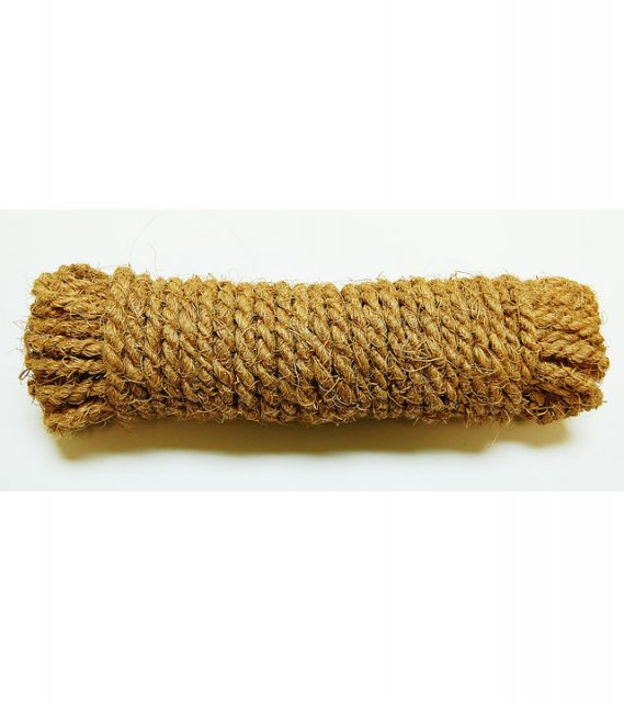 "Fun-Max Coconut Husk Rope 3/16"" x 50 Ft"